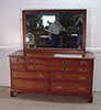Henkel Harris cherry dresser with mirror # 24 finish