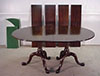 Henkel Harris solid mahogany dining table