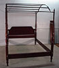 Henkel Harris Queen size canopy bed # 24 finish