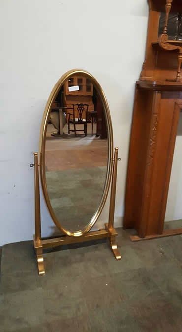 Gold Dressing Mirror