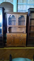 Hitchcock Maple China Cabinet