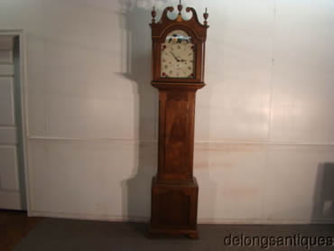 Solid Walnut Hand made Granfathers Clock with Mason and Sullivan Movement